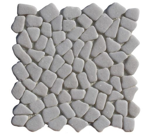 PEB145 Ice Crystal Large Pebble Natural (12x12 Sheet)