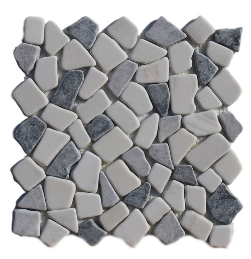 PEB154 Panda Mix Large Pebble Natural