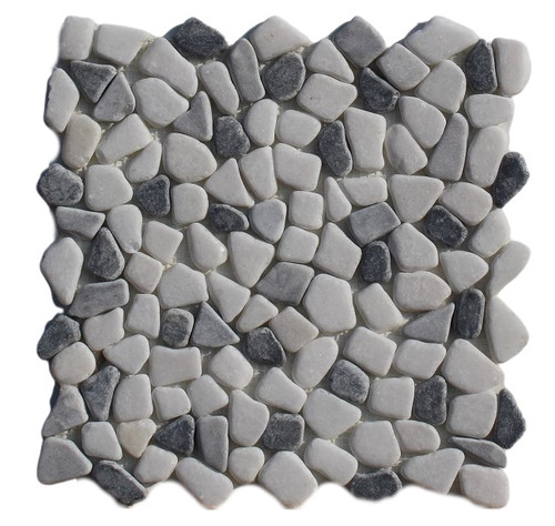 PEB155 Panda Mix Small Pebble Natural