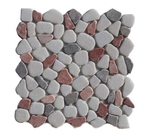 PEB156 Cool Lava Mix Large Pebble Natural