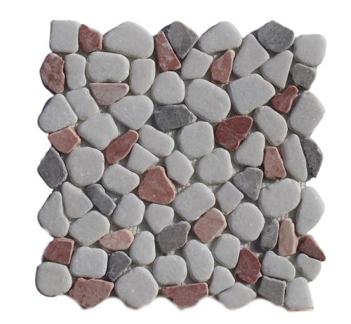 PEB156 Cool Lava Mix Large Pebble Natural