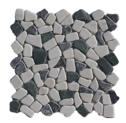 PEB158 Sea Sand Mix Large Pebble Natural
