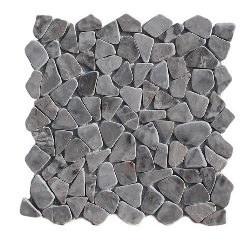 PEB166 Storm Grey Large Pebble Polished
