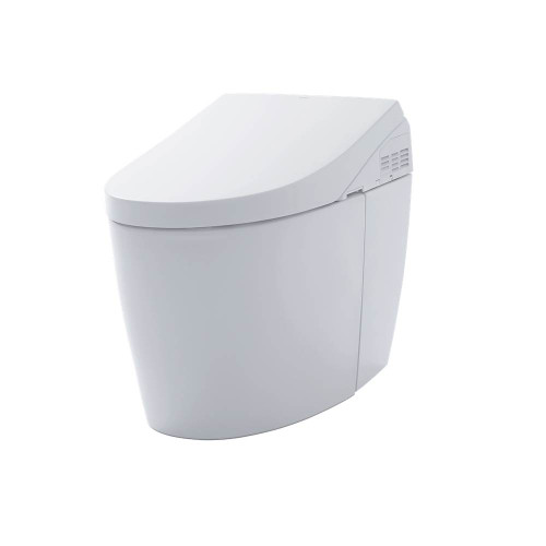 TOTO Neorest AH Dual Flush 1.0 or 0.8 GPF Toilet With Intergeated Bidet Seat And EWATER++, Cotton White