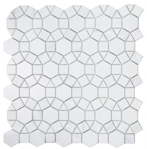 Volakas and Thassos marble mosaic