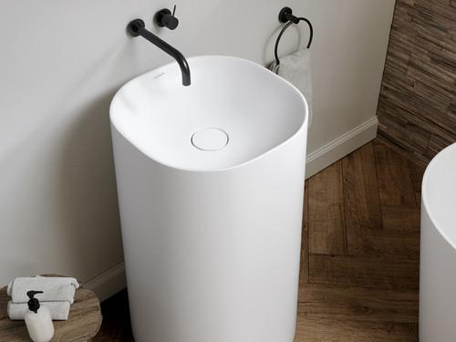 Totem VARS, Freestanding White Sink