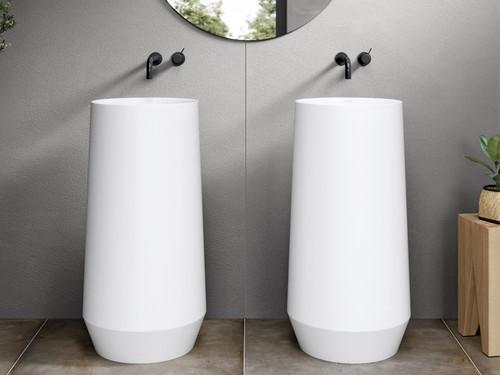 Totem VENET, Freestanding White Sink