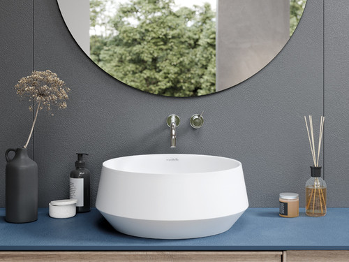 "Vessel Sink Circle White 17"" Round"