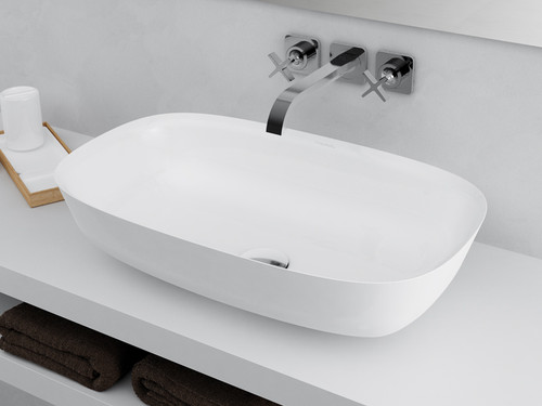 Vessel Sink Rectangle XL White