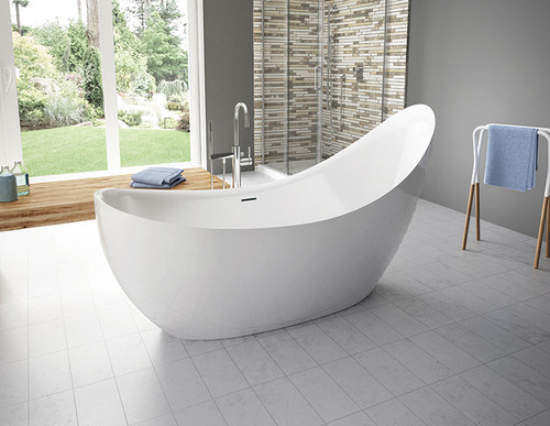 Aria CRESCENT Grande Freestanding Bathtub