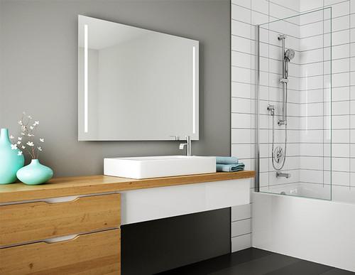 Sunrize Horizontal 42x36 LED Mirror