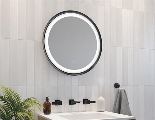 Solis 24x24 LED Round Mirror