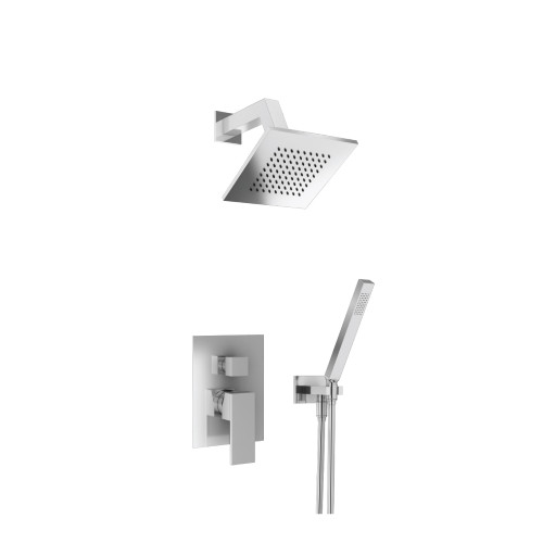 160.3250CP – Shower Set – 6″ Shower Head & Hand Held- Pressure Balance Valve & Trim