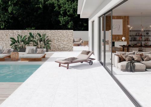 2CM Porcelain Paver Cotton indoor & outdoor