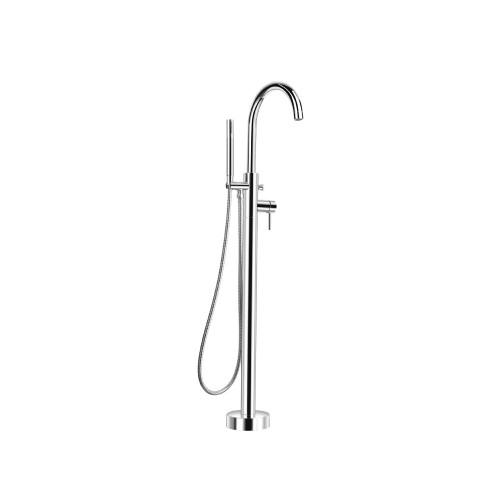 Freestanding Floor Mount Bathtub / Tub Filler Polished Chrome 100.1170CP