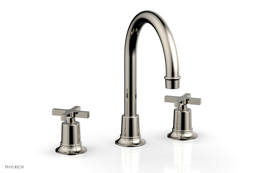 HEX MODERN Widespread Faucet with Cross Handles 501-03-014