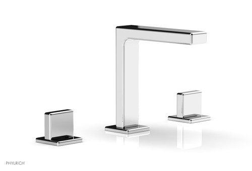 """Phylrich MIX Widespread Faucet - Blade Handle 6-3/4"""" Height 290-01-026 Polished Chrome"""