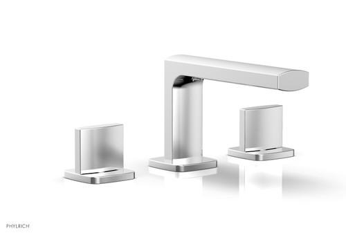 RADI Widespread Faucet - Blade Handles Low Spout 181-04