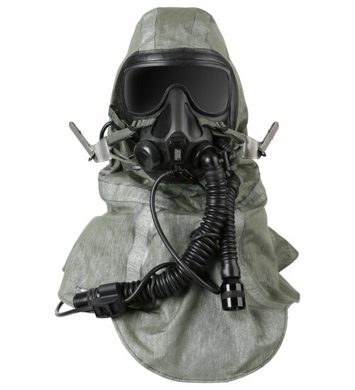 Gentex TACAIR Advanced Chemical, Biological, Radiological, and Nuclear (CBRN) Respirator System