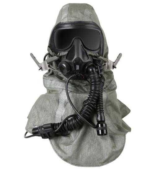 Gentex TACAIR Advanced Chemical, Biological, Radiological, and Nuclear (CBRN) Respirator System