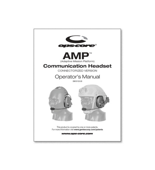 Ops-Core AMP Operator's Manual