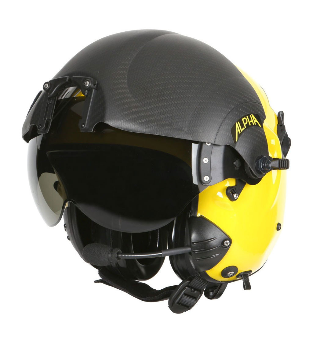 ALPHA 900 Search and Rescue (SAR) Rotary Wing Helmet System
