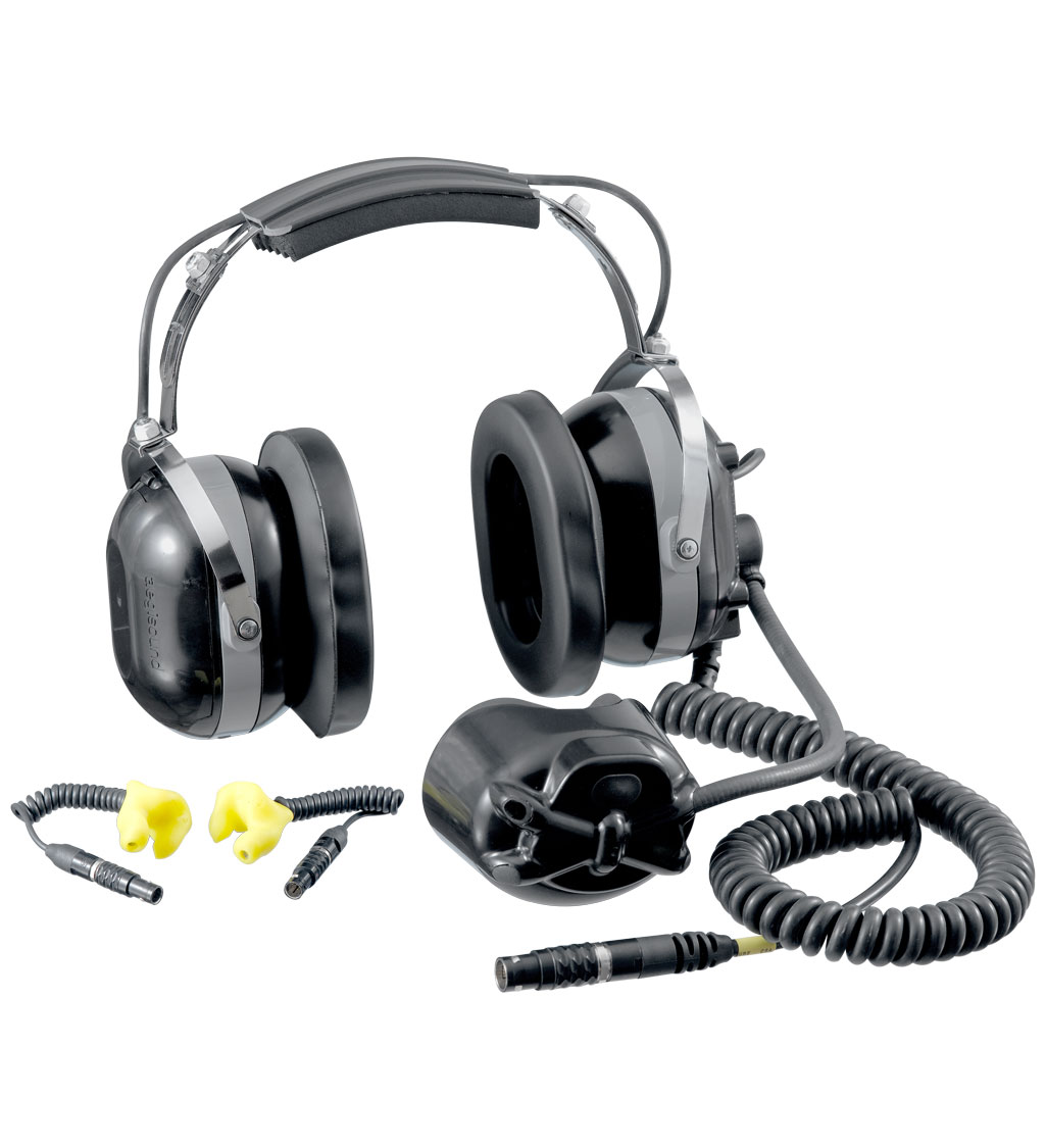 Aegisound Digital Active Noise Reduction (DANR) Triple Hearing Protector and Communications (THPC) Headset