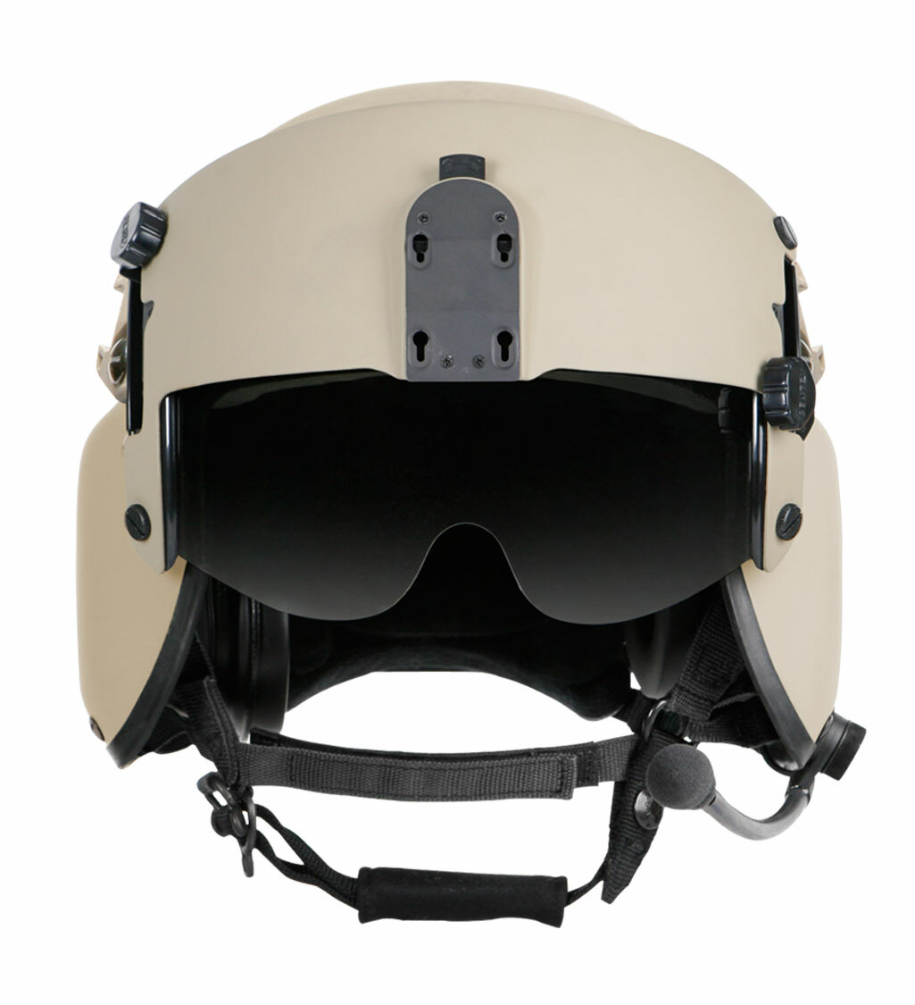 Gentex HGU-56/P Improved Rotary Wing Helmet System with Ops-Core ARC Rails
