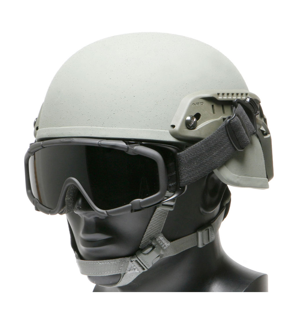 Ops-Core 19mm Goggle-Swivel Clips with Shoes Rail Adapter