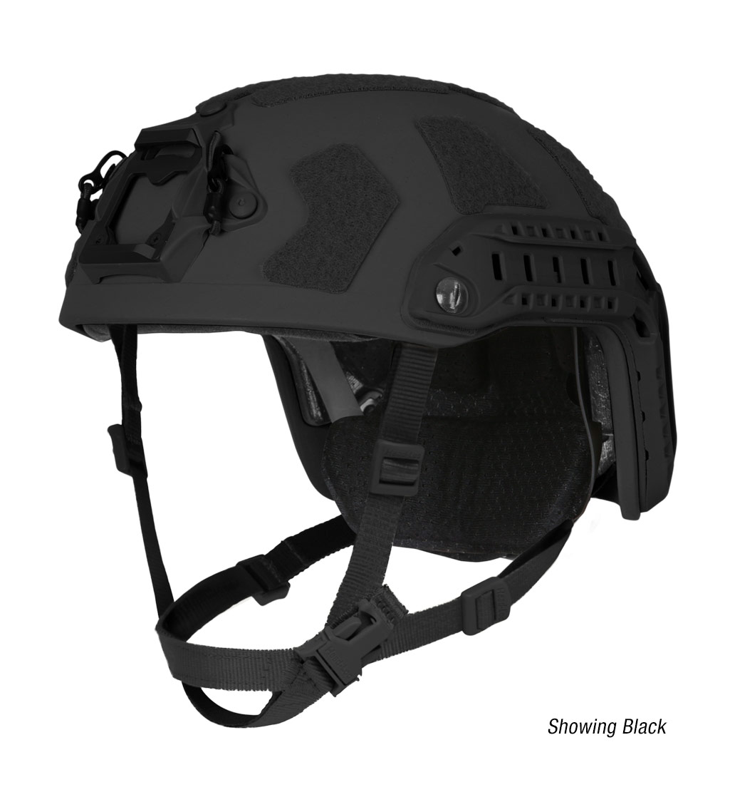 Ops-Core FAST Super High Cut ballistic tactical helmet in black