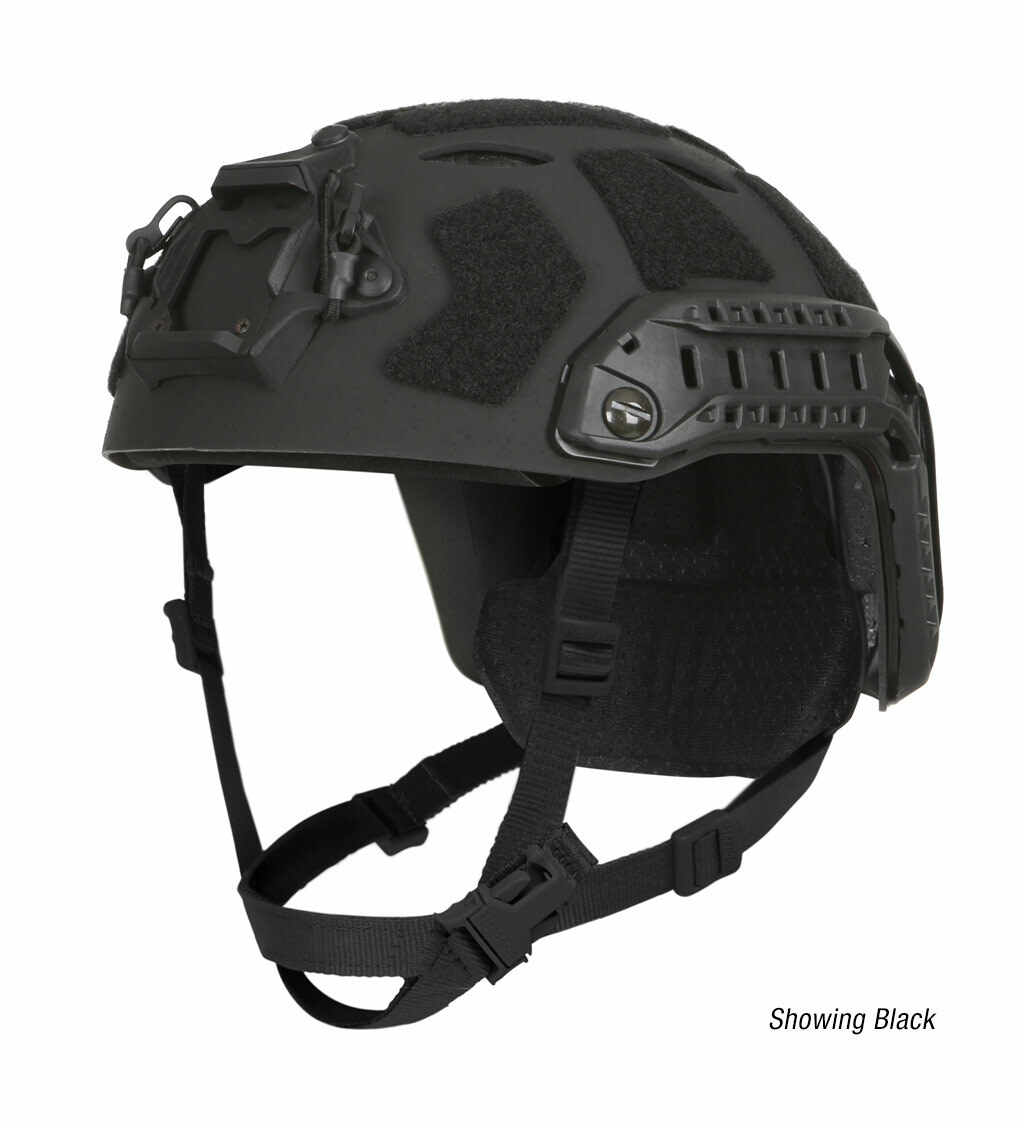 Ops-Core FAST SF Carbon Composite tactical helmet in black