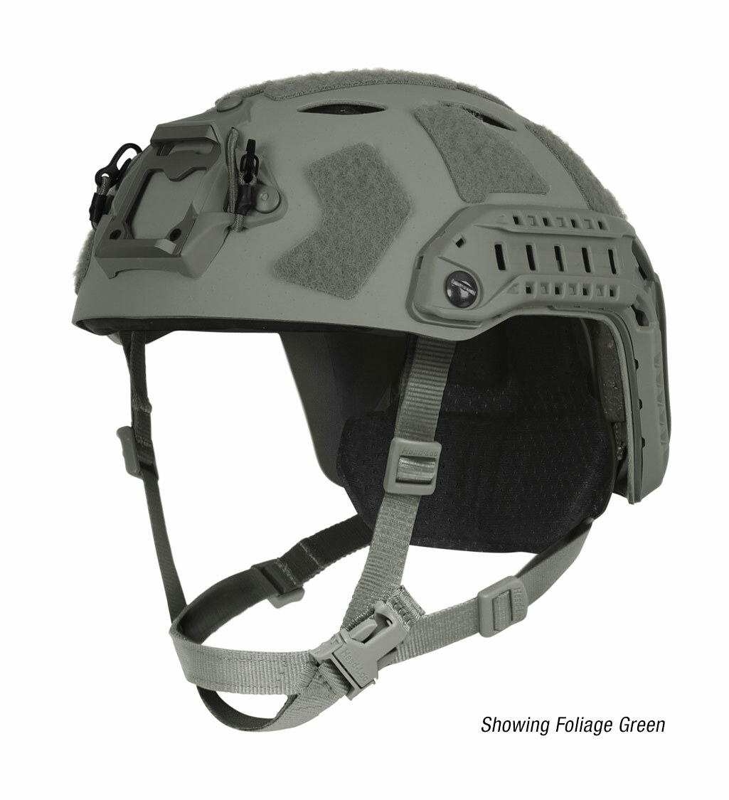 Ops-Core FAST SF Carbon Composite tactical helmet in urban gray