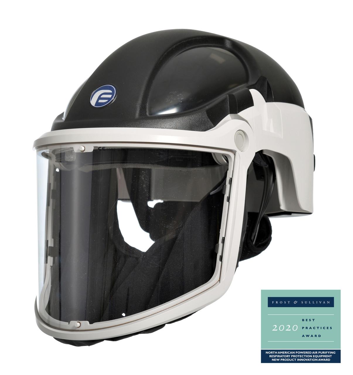 PureFlo 3000 Hard Hat with Clear Visor