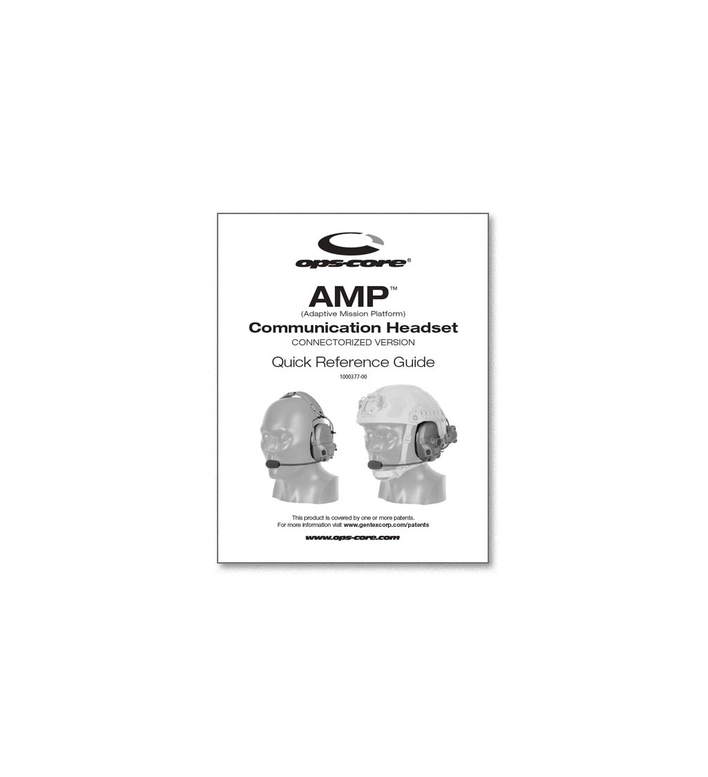 Ops-Core AMP Quick Reference Guide