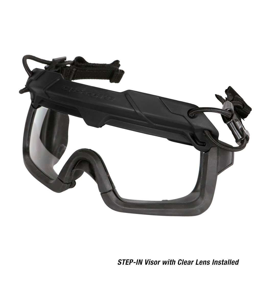 Ops-Core Step-In Visor Clear Lenses