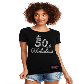 50 & Fabulous Crown Custom Any Age