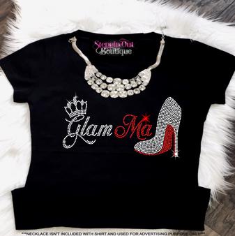 Glamma crown and heel