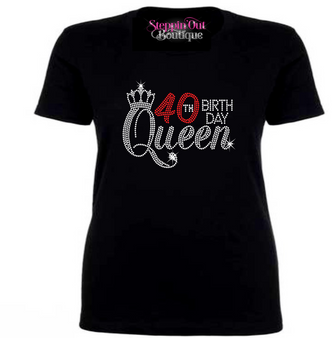 Birthday Queen 30,40,50,60,70