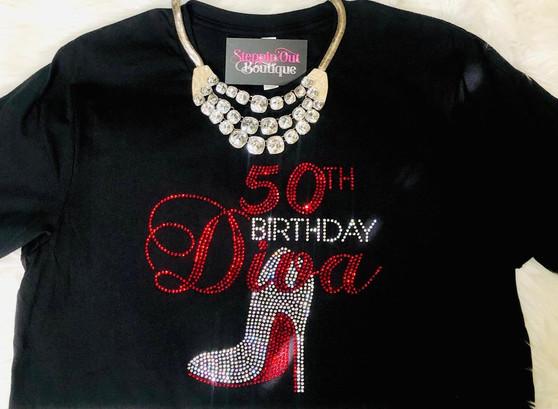 50th Birthday Diva