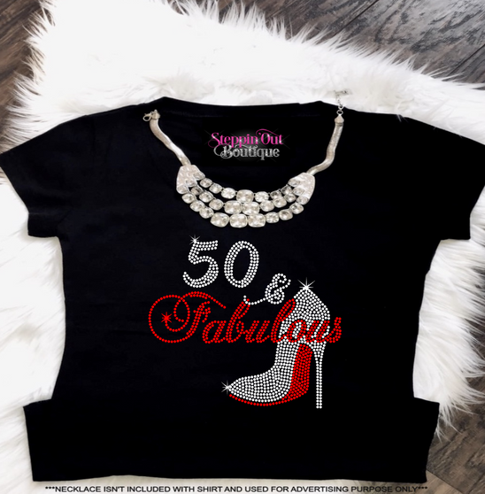 50 and Fabulous Custom Age