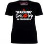 Warning Girls Trip In Progress Shirt