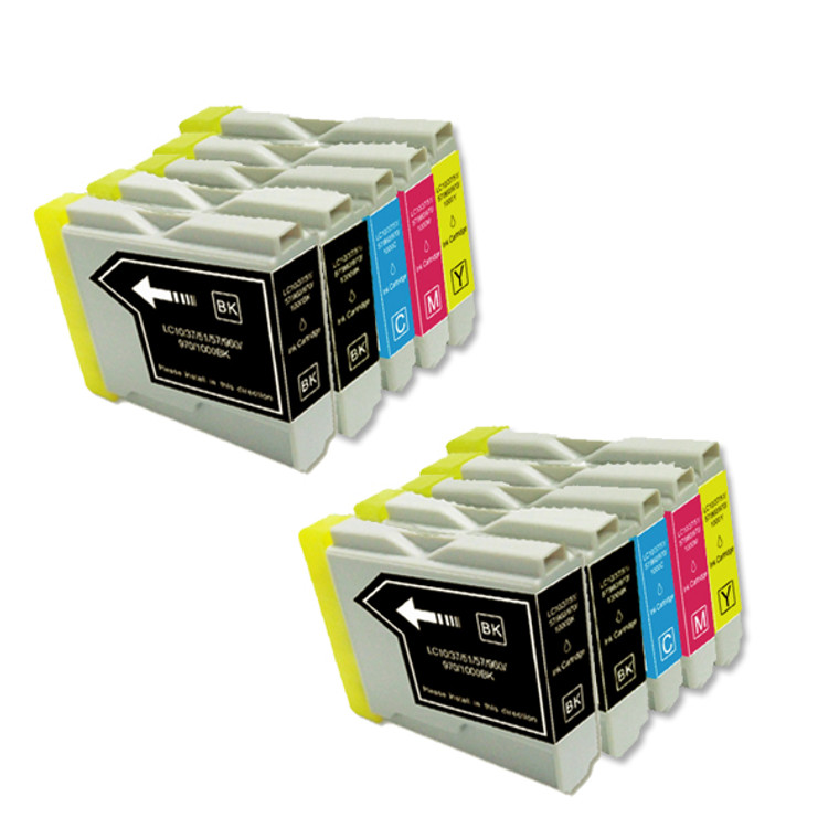 10-Pack Compatible Ink for Brother LC51