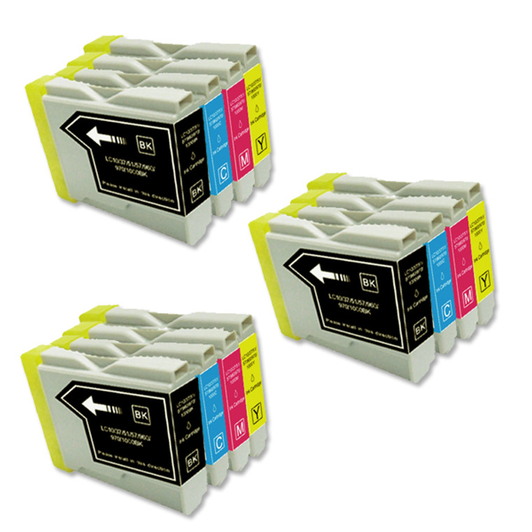 12-Pack Compatible Ink for Brother LC51