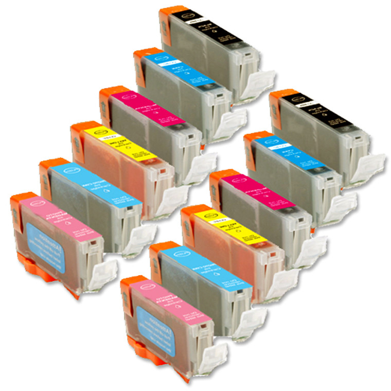 12-Pack Compatible Ink for Canon BCi-6 inlcudes PCPM