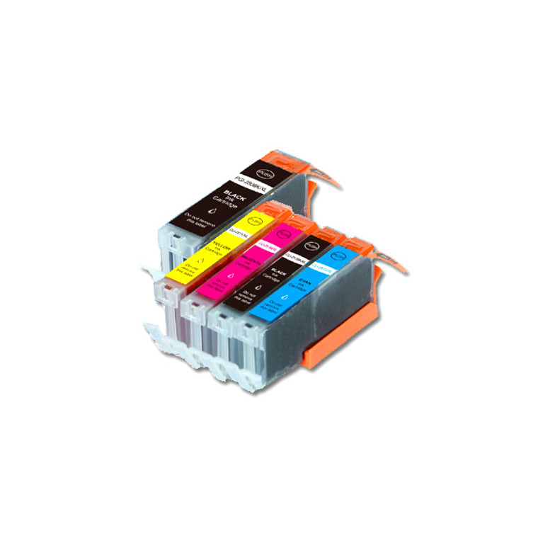 5-Pack Compatible Ink w/ Chip for Canon PGI-250XL / CLI-251XL