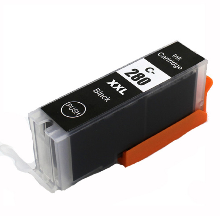 1 Pack Black Ink Cartridges Compatible for PGI-280XXL