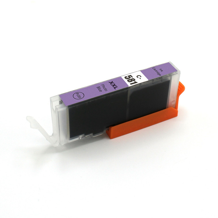 1 Pack Photo Blue Ink Cartridges Compatible for CLI-281XXL