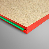Megatimber Buy Timber Online  PARTICLE BOARD FLOORING GREEN TONGUE TERMITE RESISTANT 3600 X 900 X 19mm GTT369