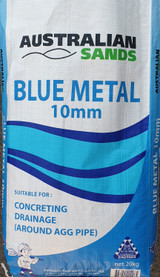 Blue Metal 10mm Aggregate 20kg BM1020