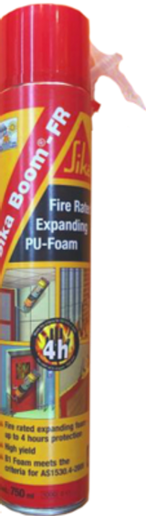 SIKA SIKA-BOOM FIRE-RATED EXPANDING FOAM 750ml 4004361